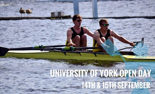 Attending @uniofyork 's open day this weekend? We'll have students at our stall by central hall welcoming questions both uni and rowing related. Come find us and see what we are all about! *Spoiler alert* it's rowing.