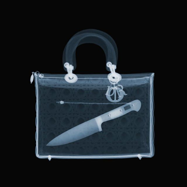 One of my new Murderer series. This one's called 'Dagger in my Dior'  #nickveaseyxray #xrayart #contemporaryart #processgallery #ChristianDior