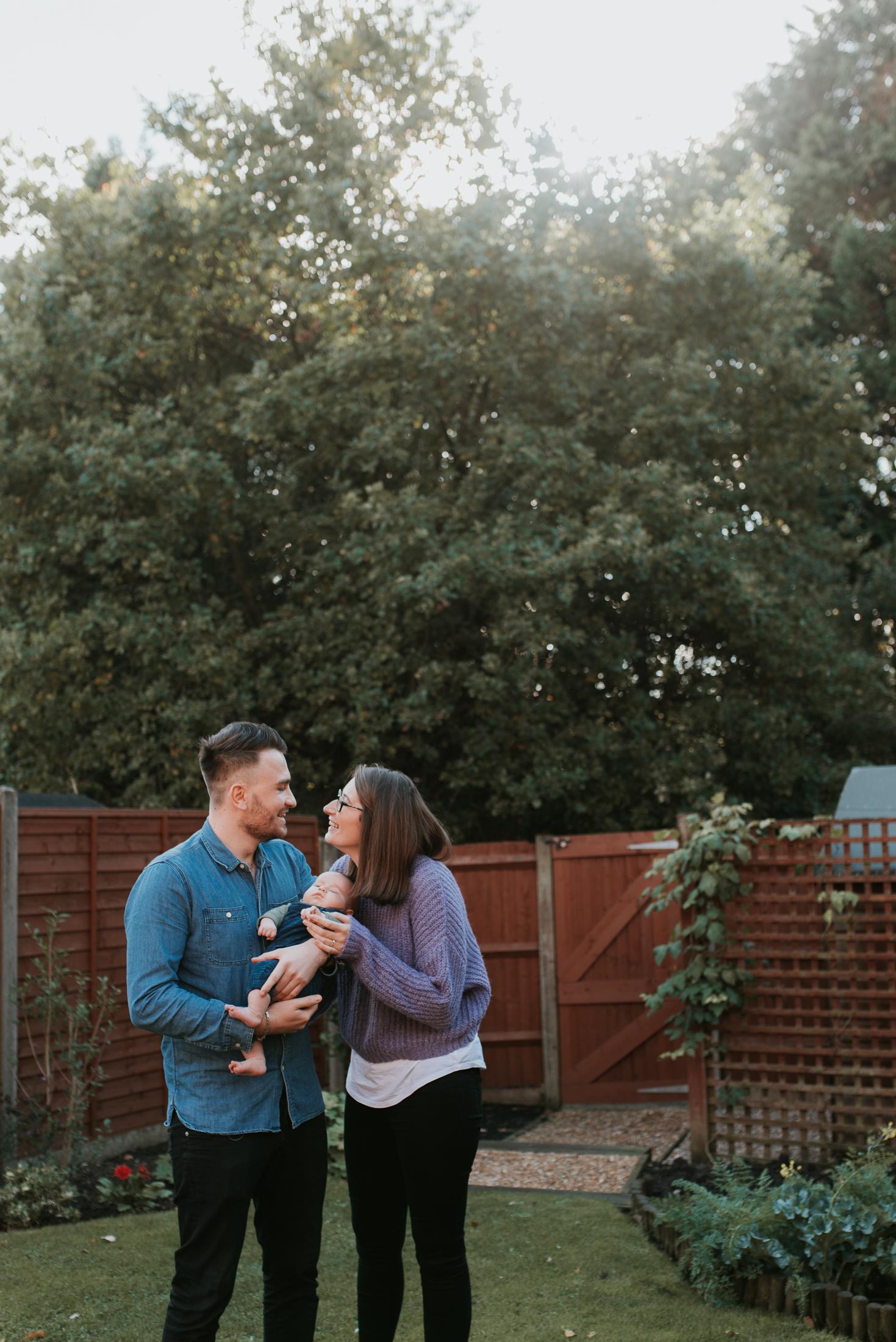Natural family photographer Wokingham