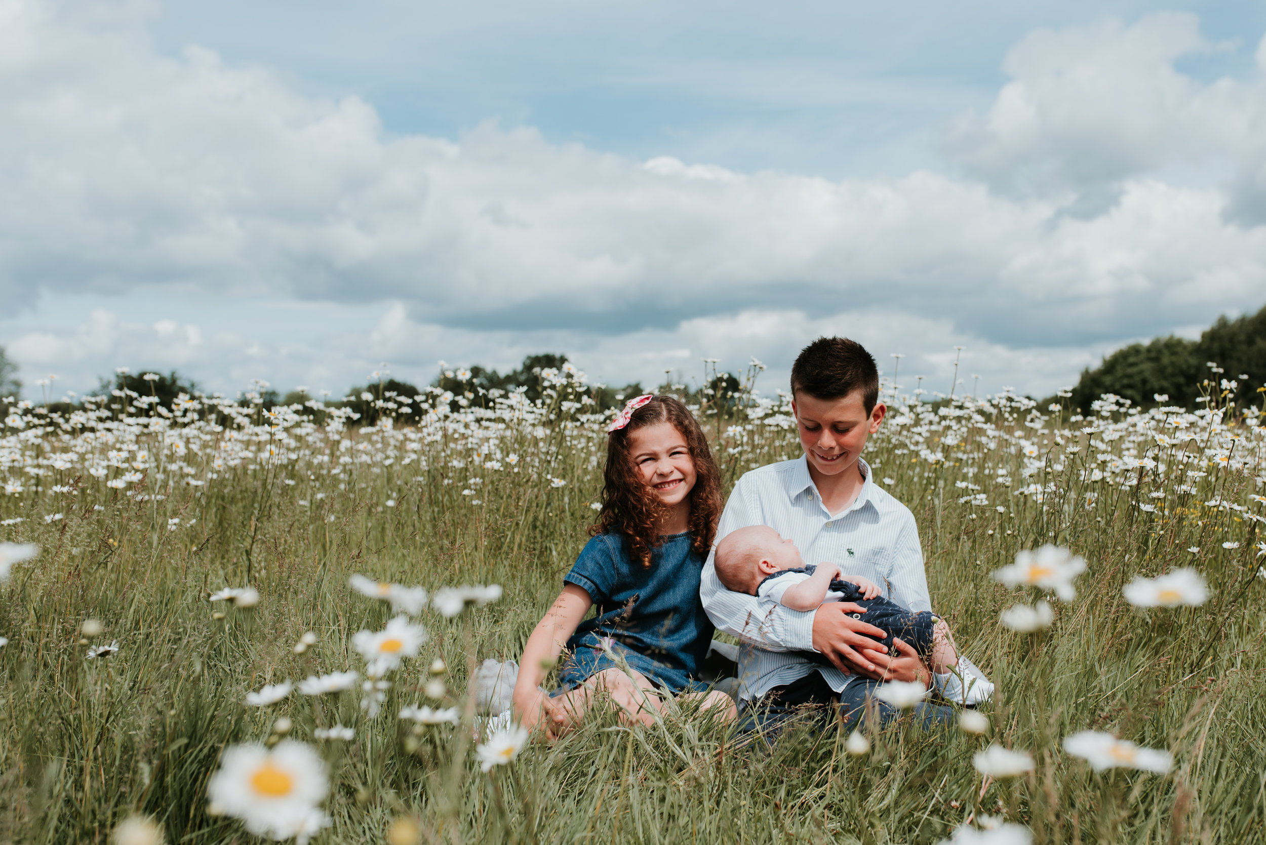 outdoor family photos Woodley