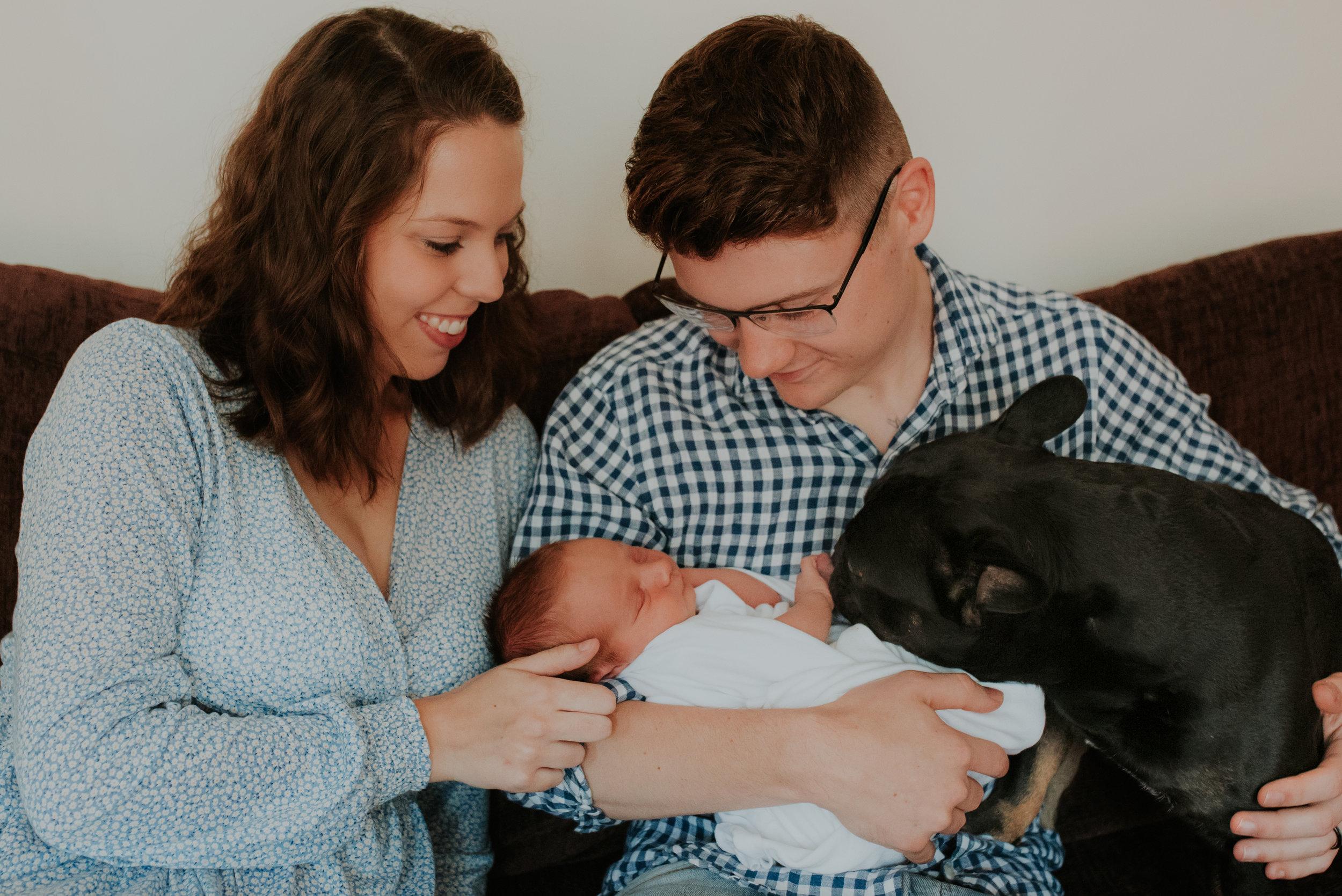 family photoshoot Woodley