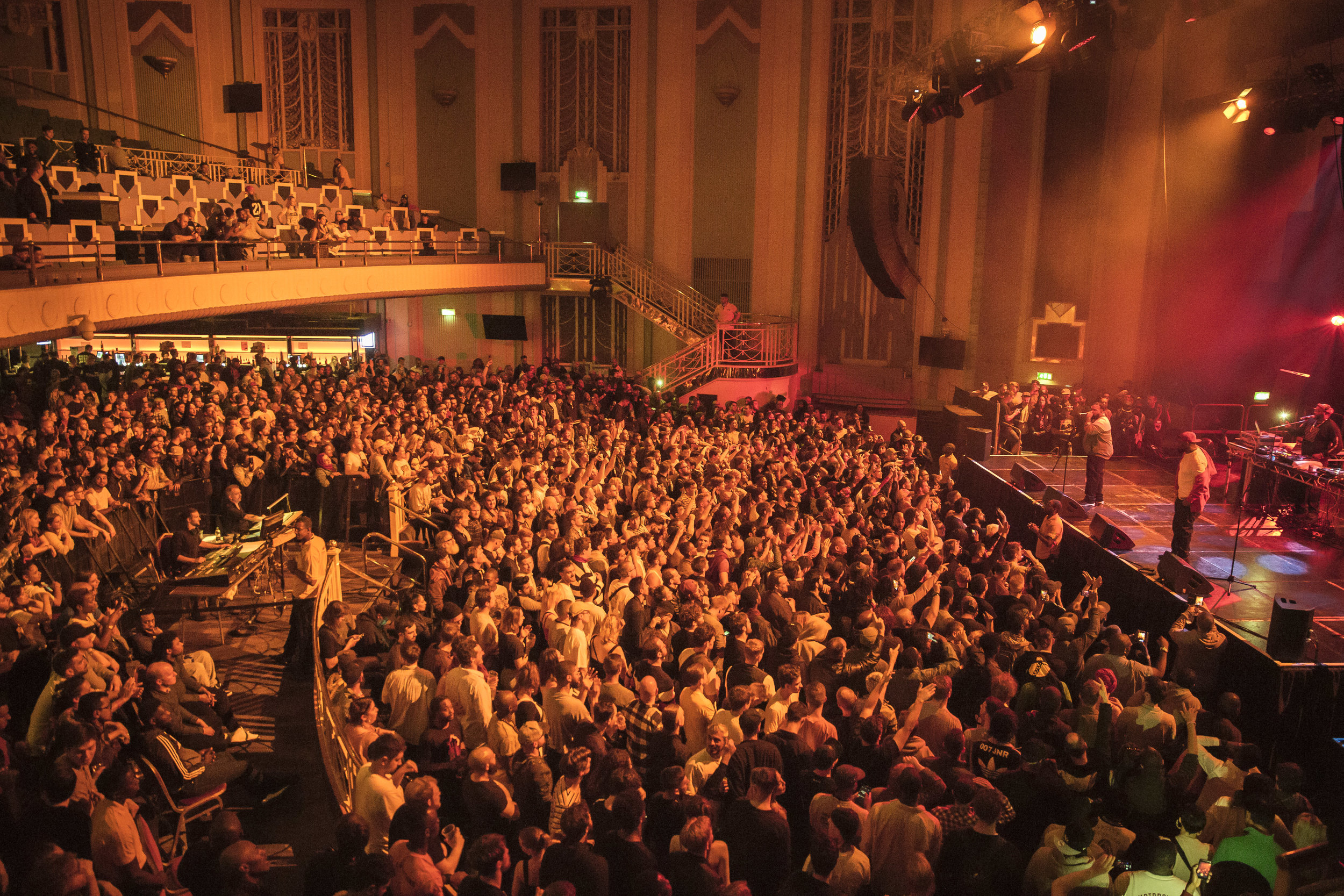 Packed house at the Troxy