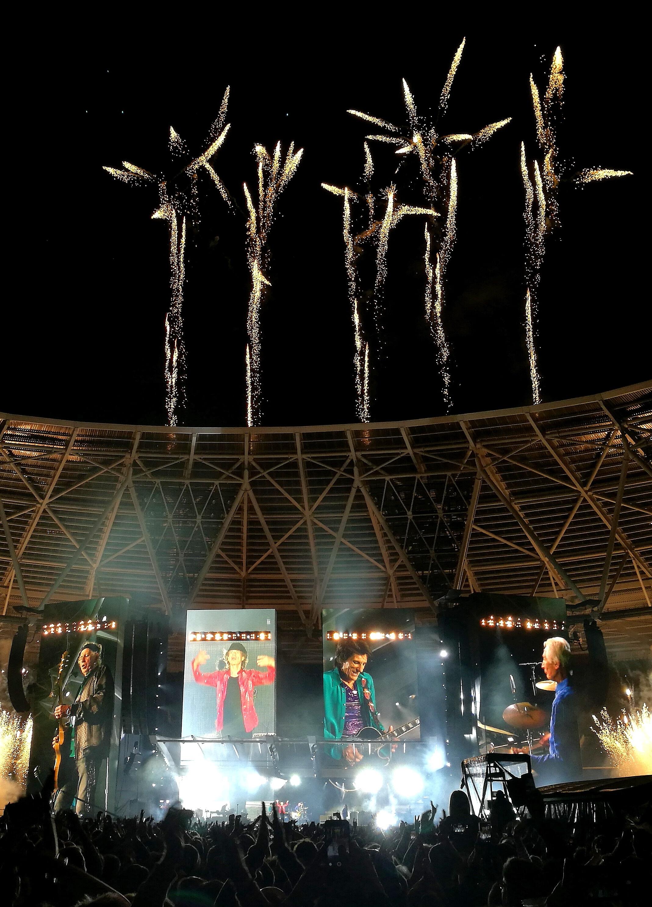 (Said) Fireworks