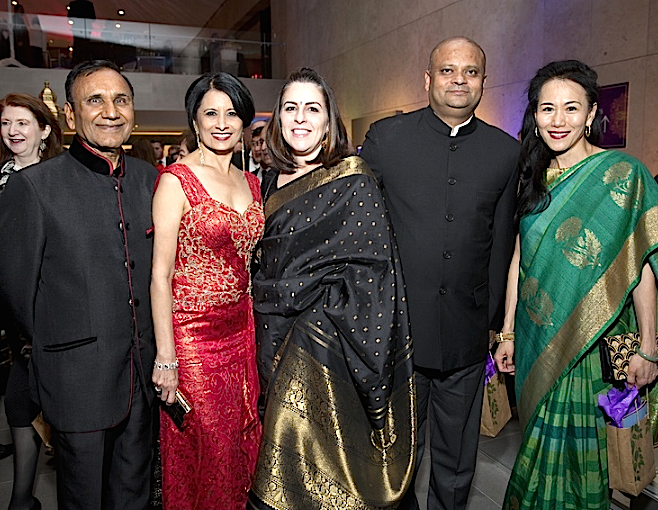 "CultureMap: Tiger Ball salutes ""Magnificent India"" with bejeweled showstopper and a Bollywood beat"