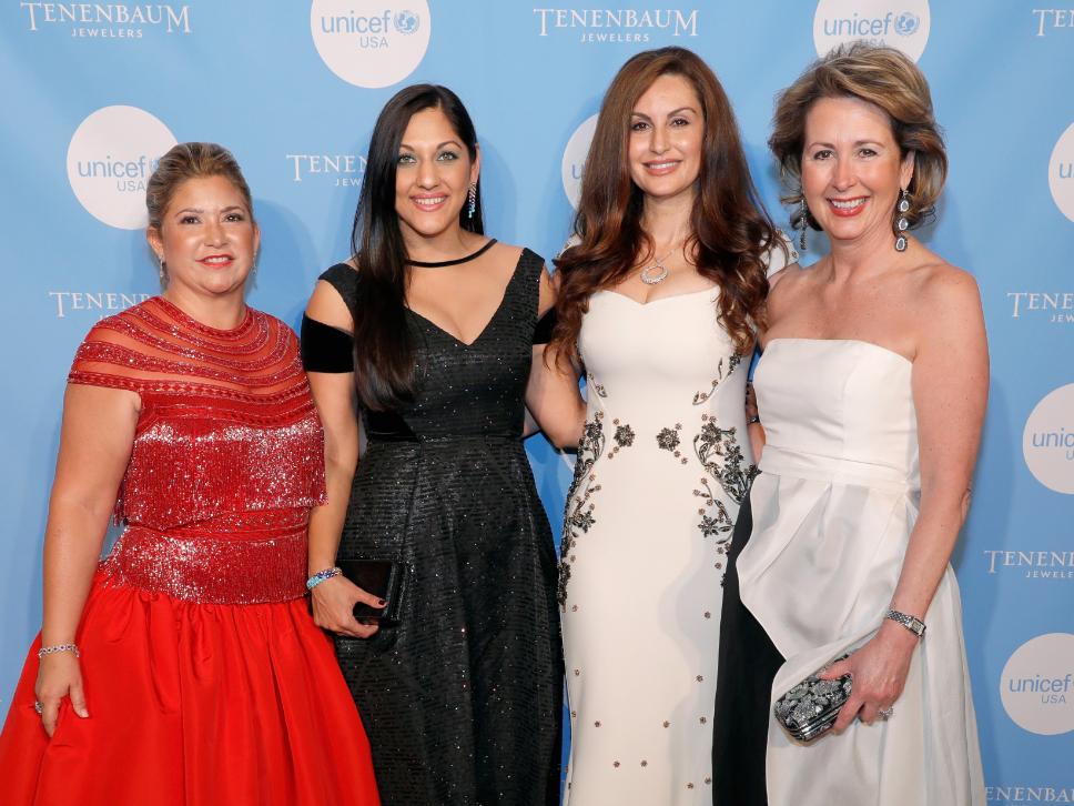Leticia Trauber, Sippi Khurana, Brigitte Kalai, Ileana Trevino.