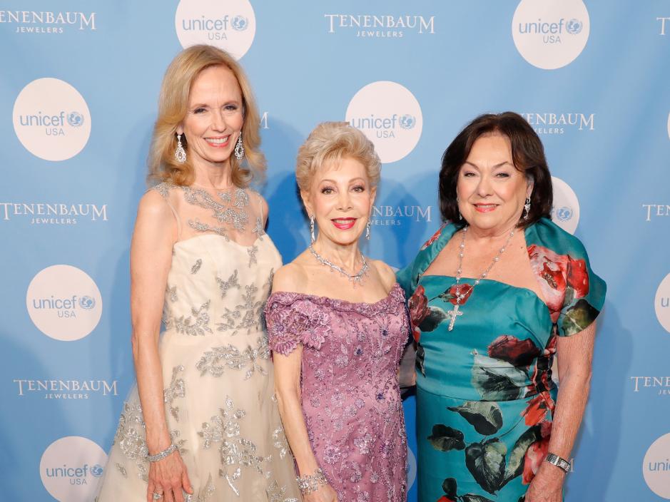 Susan Sarofim, Margaret Alkek Williams, Rose Cullen.