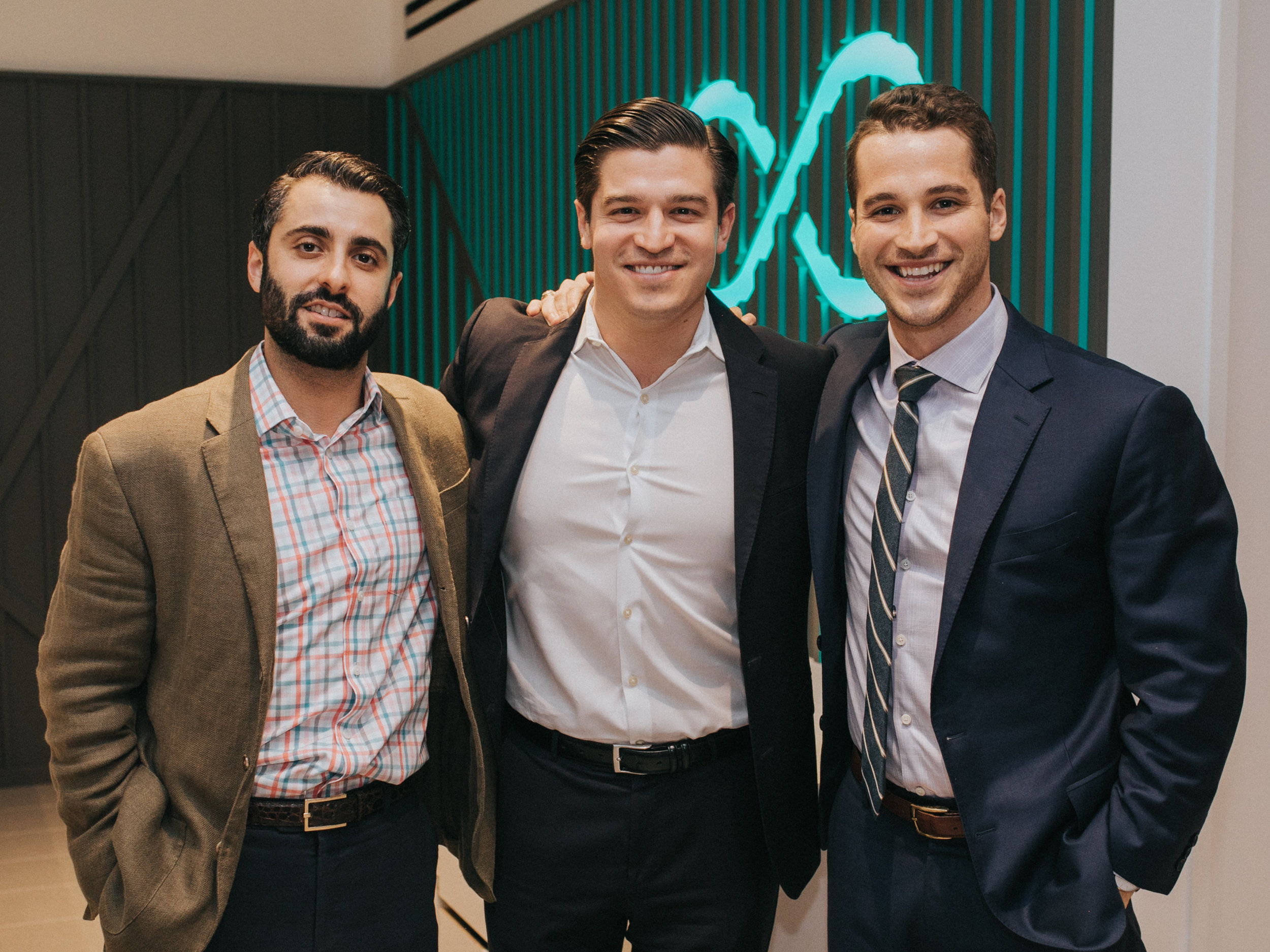 Alex Taghi, Ray Garcia, Adam Hawkins.