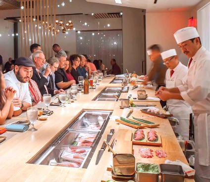 PaperCity: Houston's Best Sushi Restaurants: 11 Spots That Turn Raw Fish Into Art