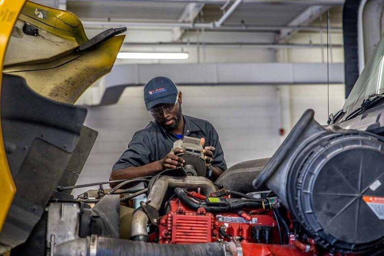 diesel mechanic CDL schools Baltimore