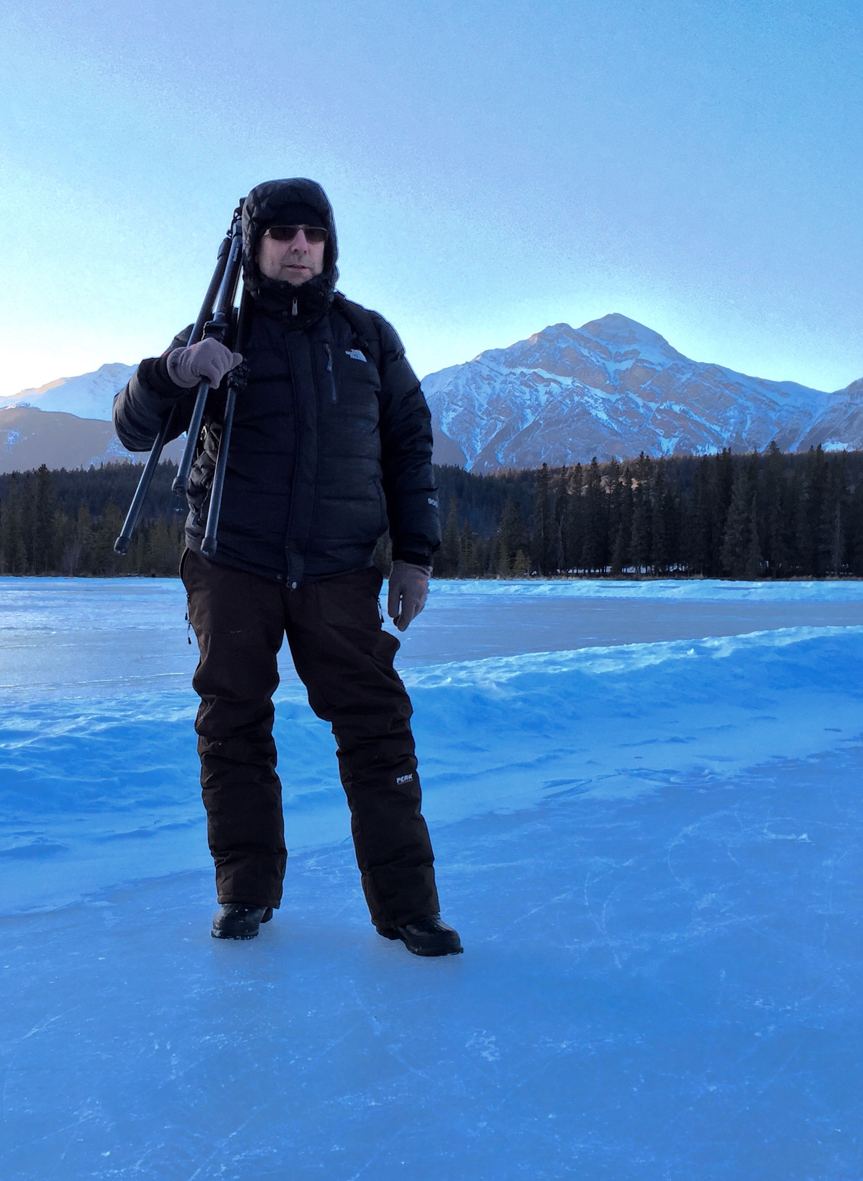On location in Jasper National Park, Canada for Toolbox Design and Fairmont Hotel Group.