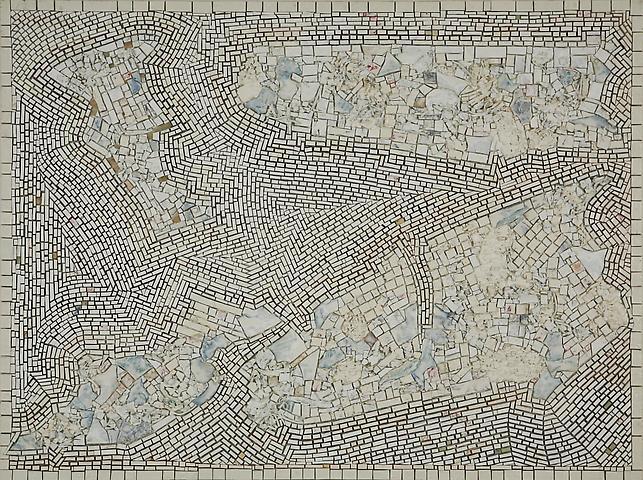Jack Whitten, Alexandrian Quartet  (2001),Acrylic on canvas