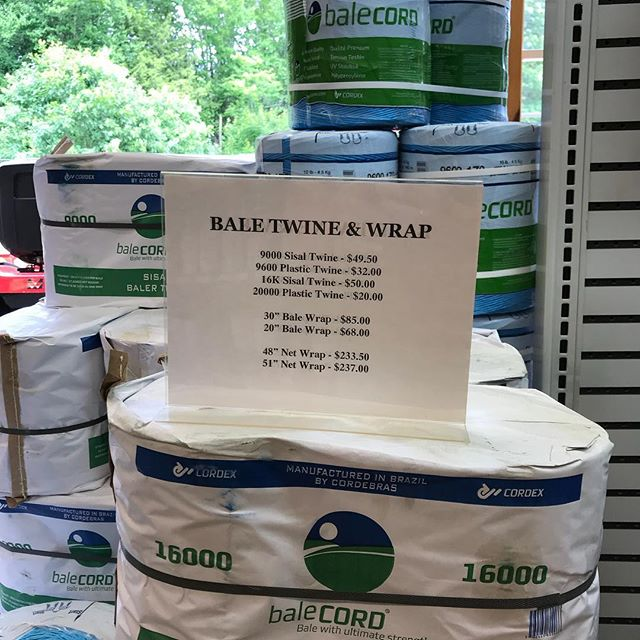 Hey, hey, hey...it's HAY season and the weekend forecast is perfect for baling!! Check out our prices; you'll find they're the lowest around!  #shoplocal #localfarms