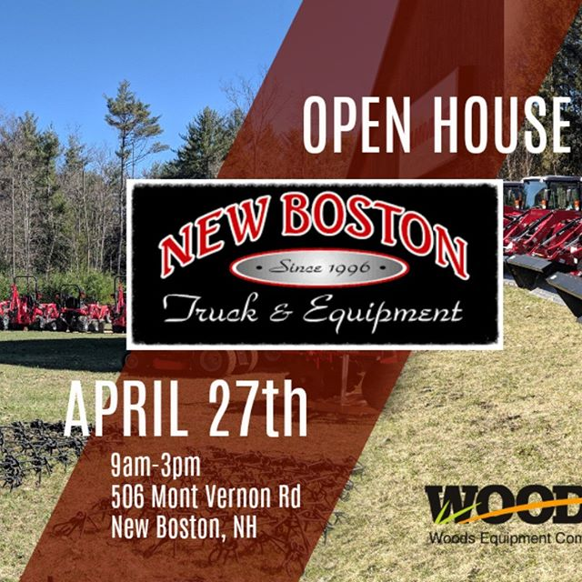 Open house coming up! More exciting details to come over the next couple weeks. Bring your family and friends! #NBT #masseyferguson #yanmar #NH