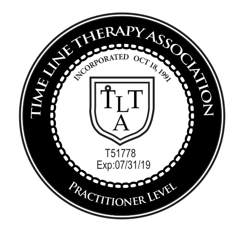 TLTA Practitioner Level Time Line Therapy Logo Hanna Leask