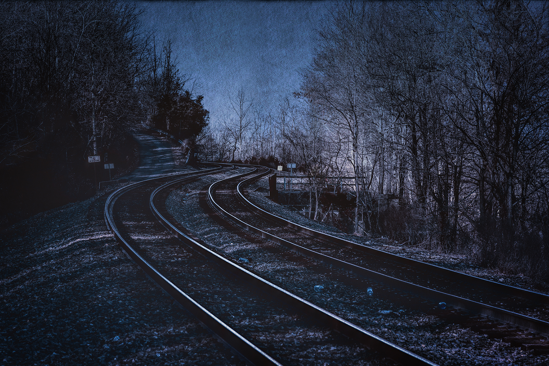 Night Train Coming - Nikon D750, 1/320 @ f/10, ISO 200, 120mm - Another good seller! See my poem, Night Train Coming, in the Poetry Section.
