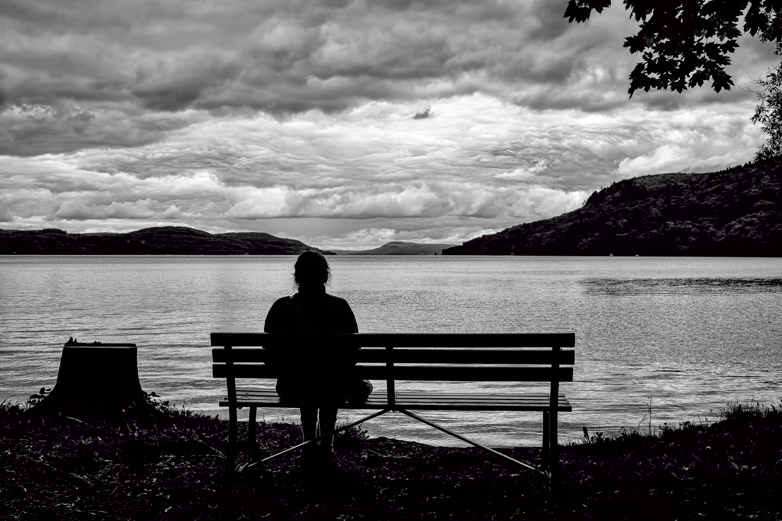 Come Sit for Awhile - Fujifilm X100T, 1/250 @ f/11, ISO200,23mm - Shot at Glimmerglass Lake in Cooperstown, NY - See my poem of the same title in the Poetry Section