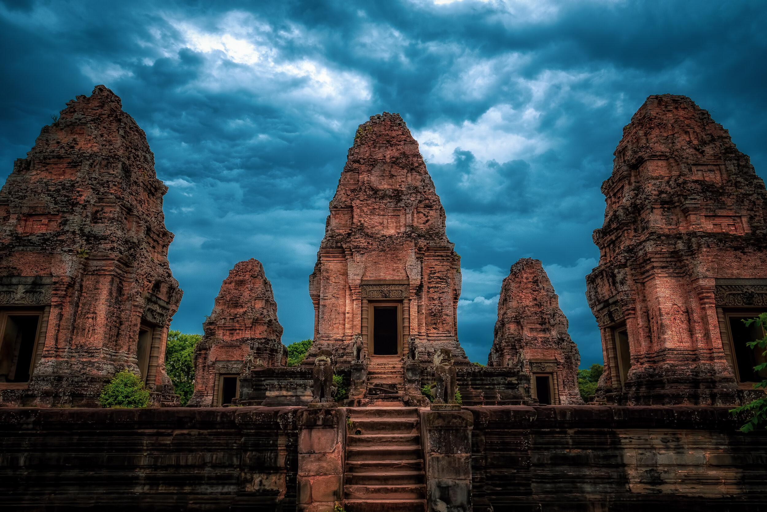 Enter the Temple - Fujifilm X-T3, 1/125 @ f/11, ISO 400, 16mm. One of many Angkor Temples in central Cambodia. The greatest obstacles to getting a good pic; the crowds and the intense heat. Still, this place should be on any photographer's short list.