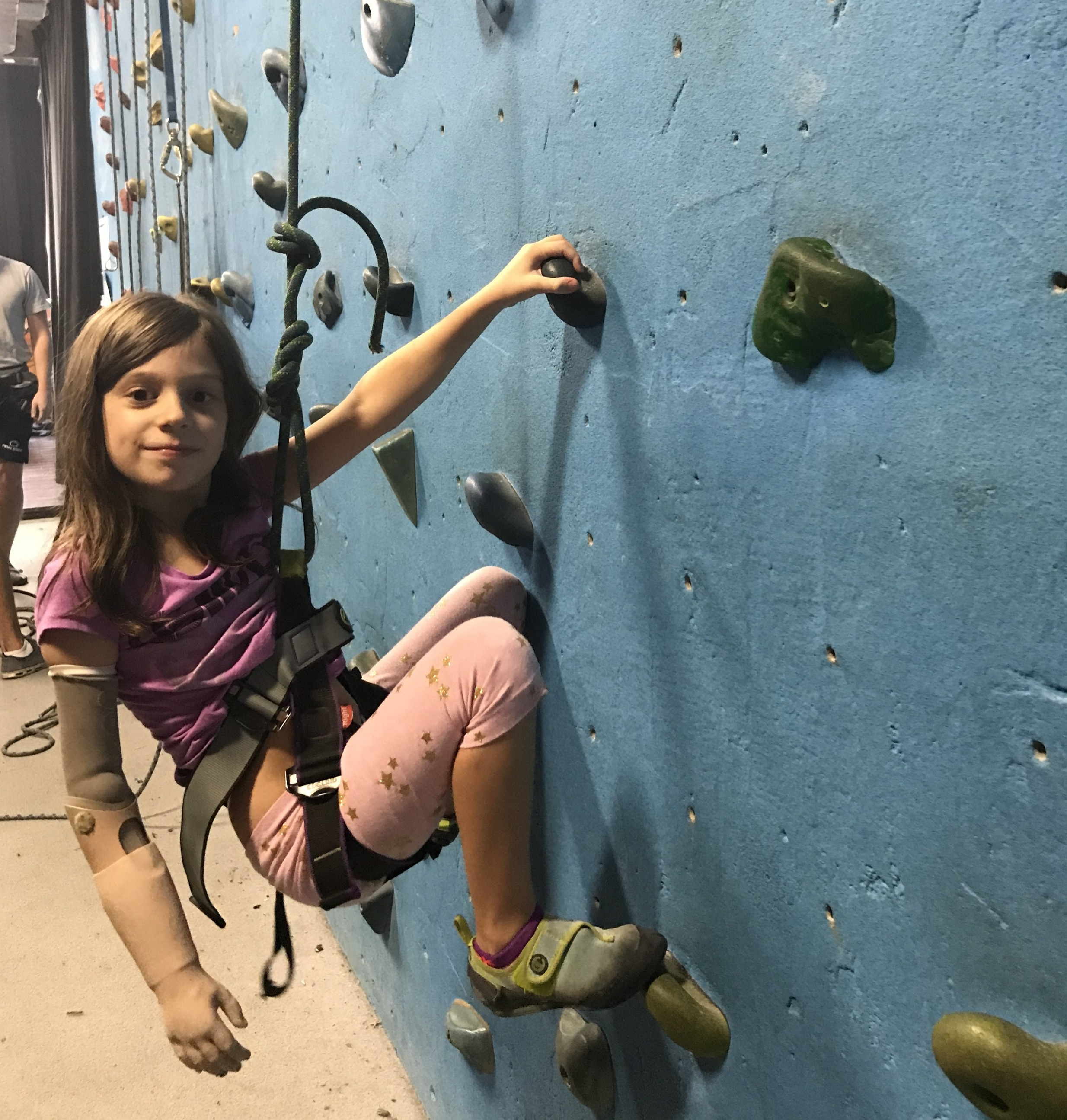 Rock Climbing at Brooklyn Boulders -