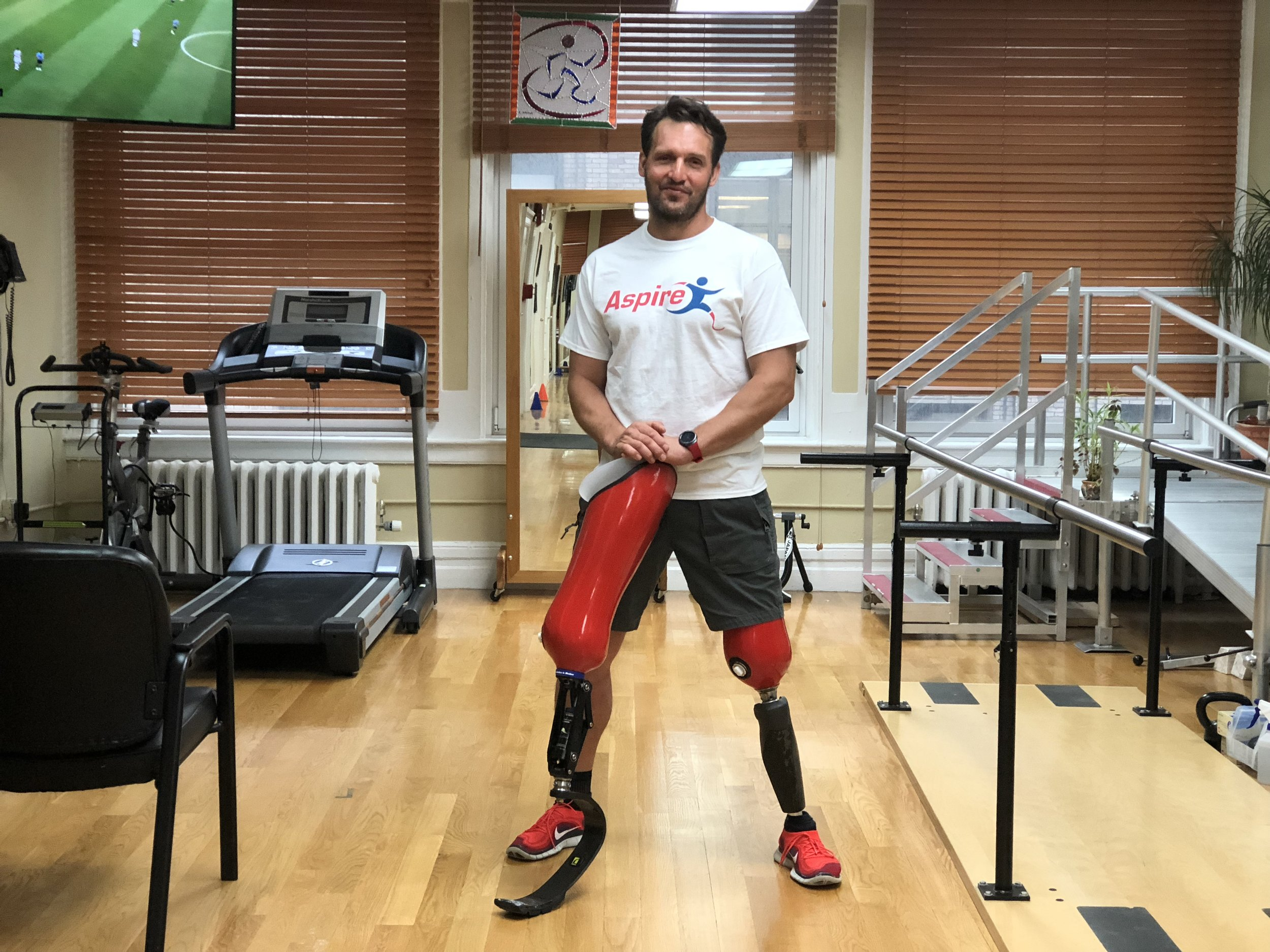 Tomasz - Tomasz became an amputee in 2016 from a car accident. We have provided him with his everyday walking and running prostheses. Tomasz has completed 15 marathons and 17 half marathons.