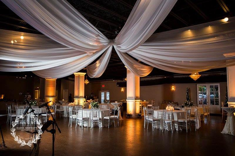 8 Panels of Overhead Draping with Uplighting.jpg