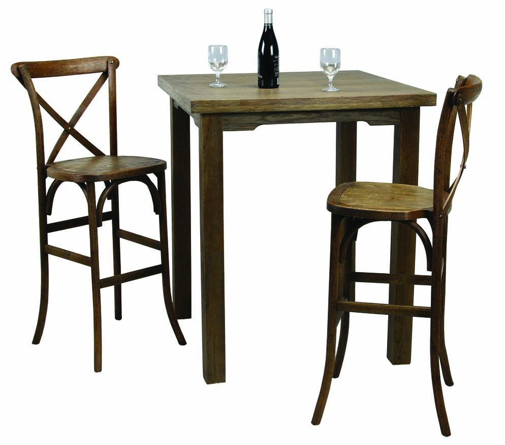 shaker Bar High Table and X Back BH Chairs.jpg