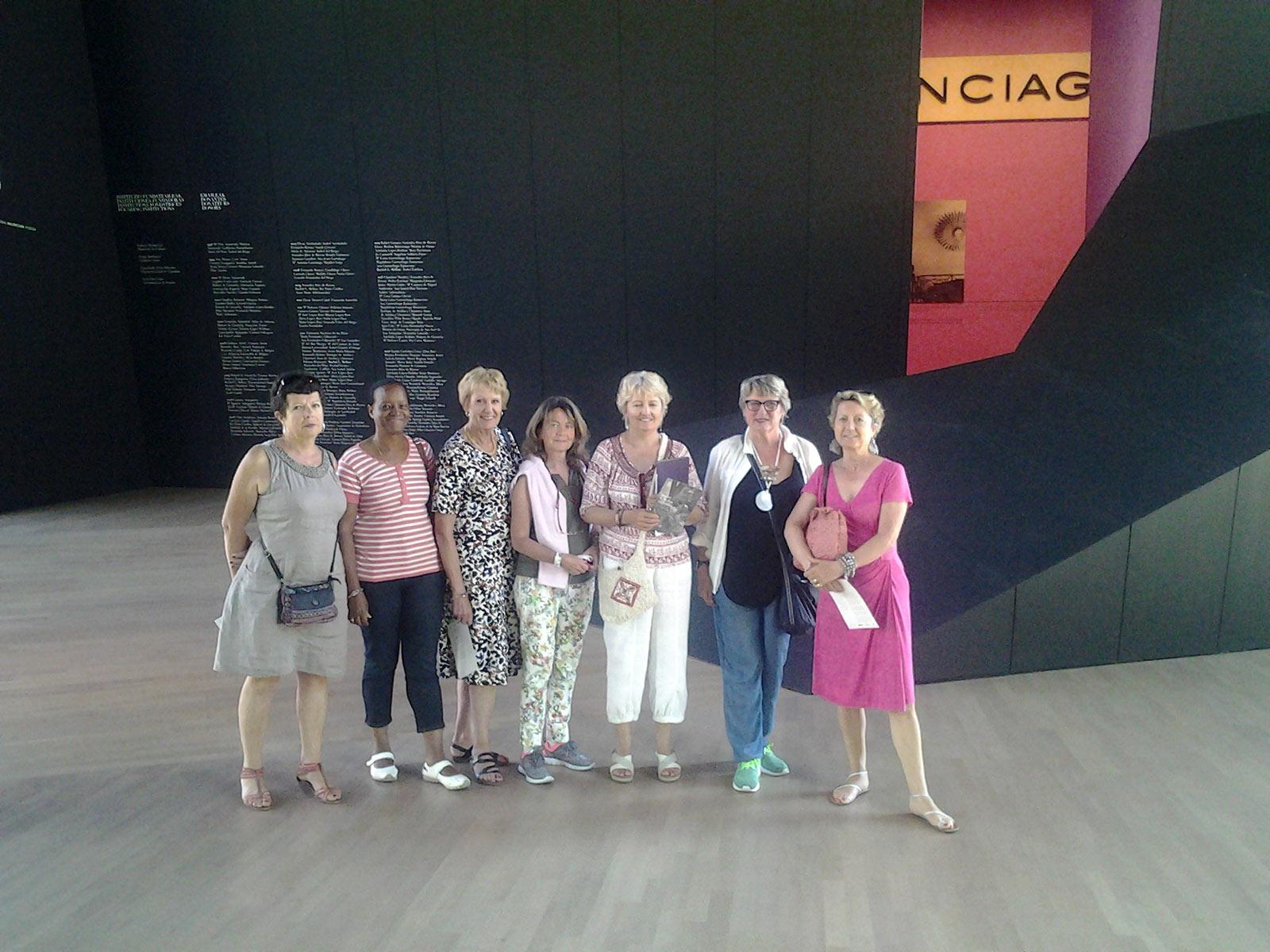 une escapade au musée Balenciaga  -