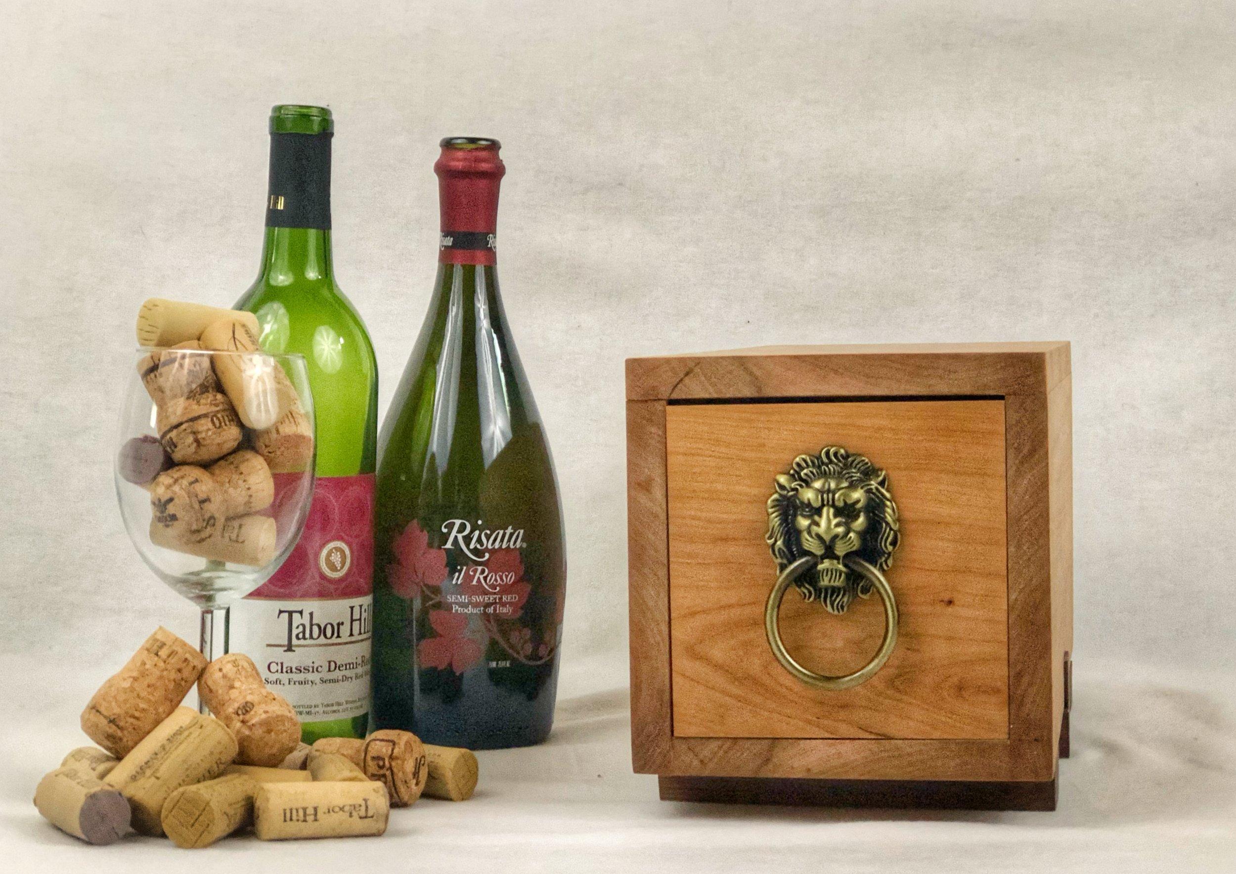Sliding Dovetail Wine Box