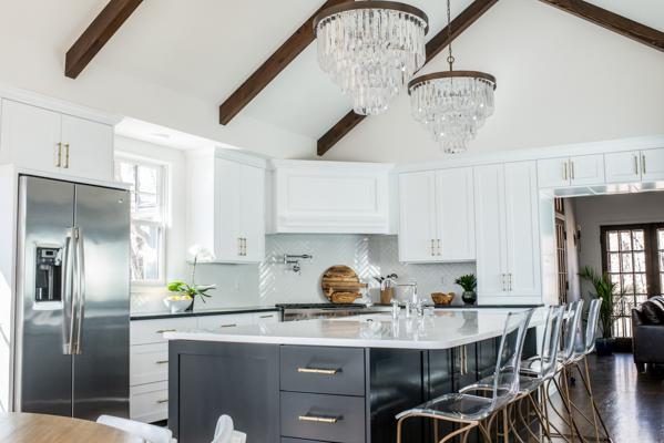 Modern Tudor Black White Kitchen Scout Nimble