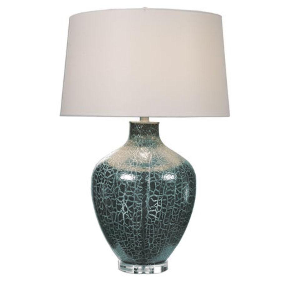 Zumpano Crackled Gray Table Lamp | Scout & Nimble