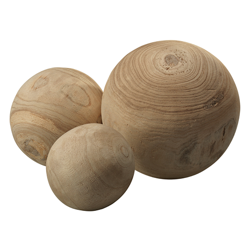 Malibu wood balls (set of 3) | Scout & Nimble