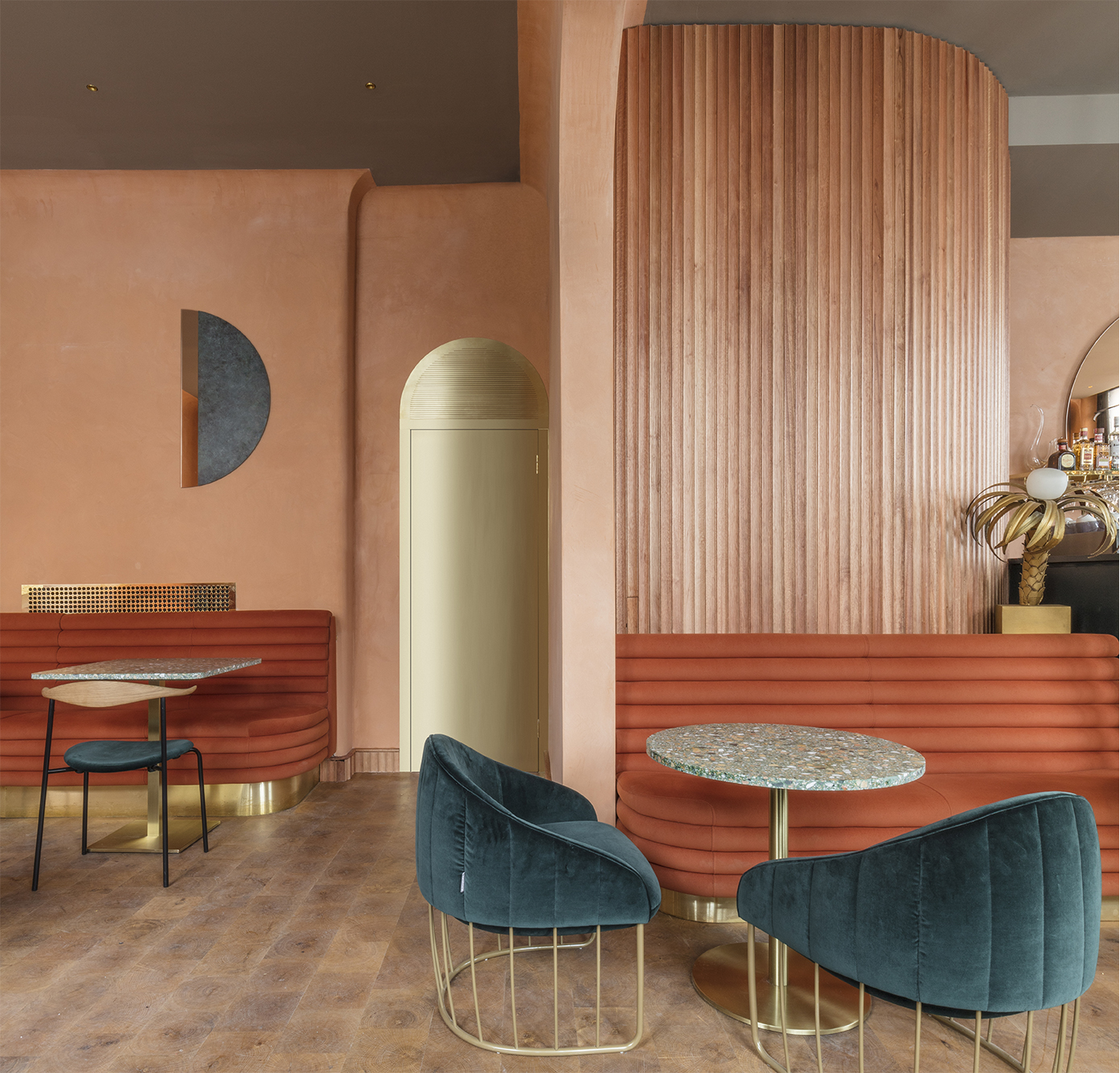 Design   Stella Concept  (Omar's Restaurant in London)
