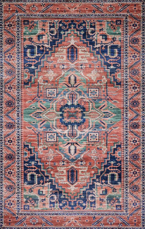CIELO RUG IN CORAL/MULTI  | Starting at $49