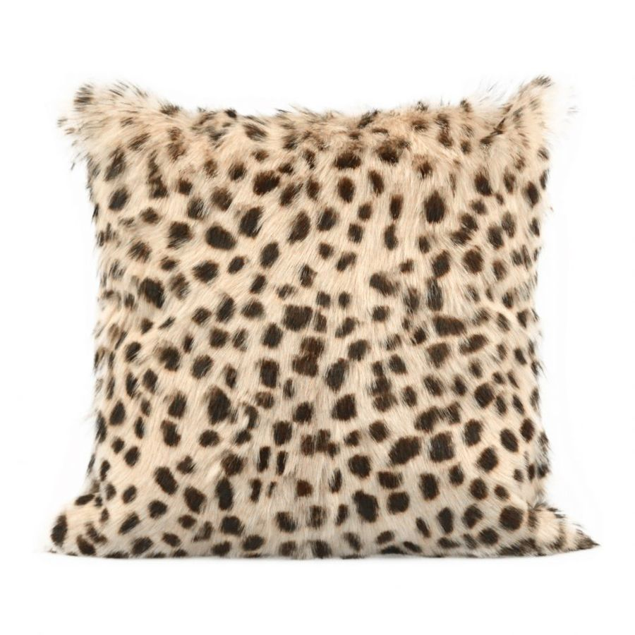 Spotted Pillow in Cream