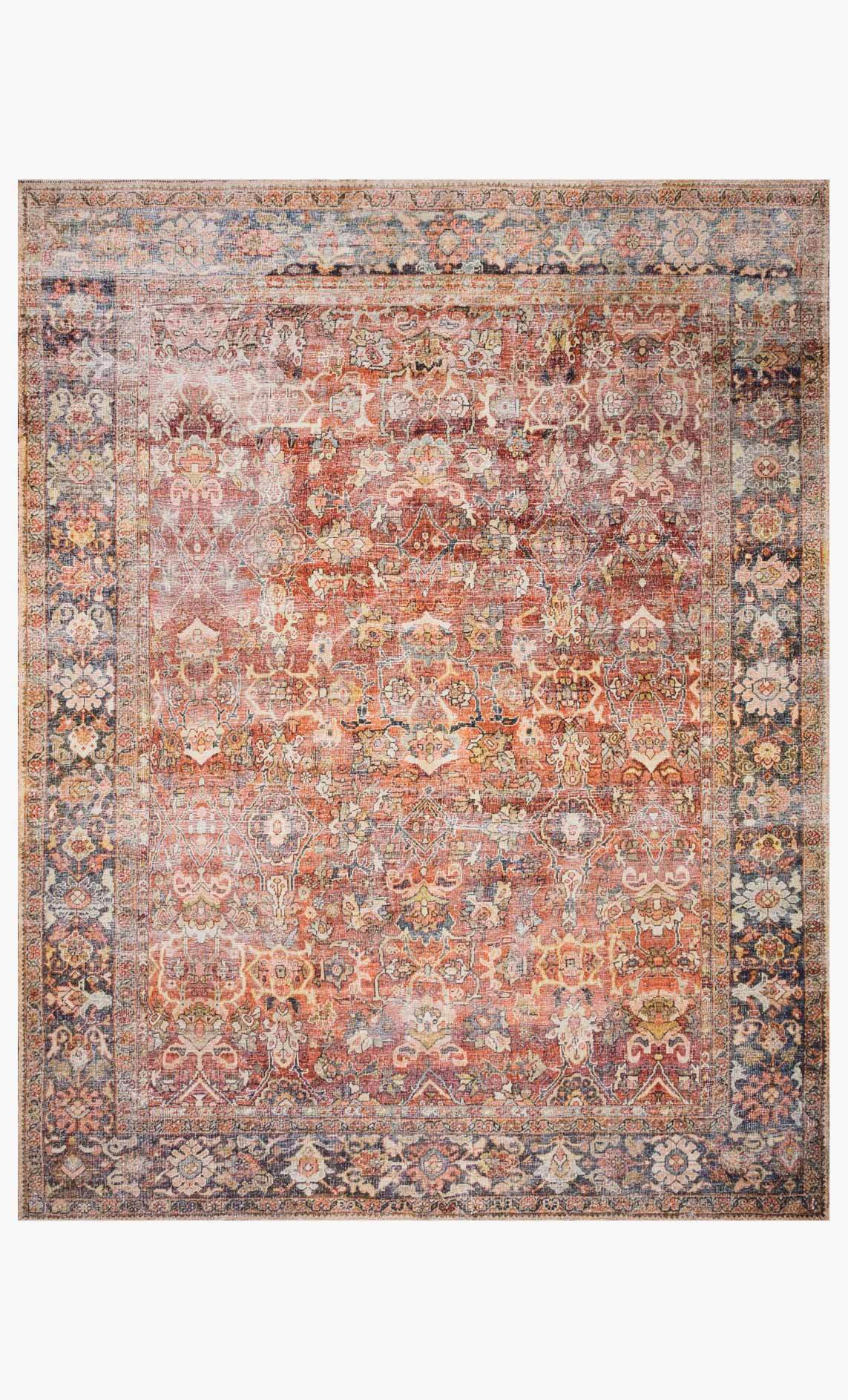 Layla Rug in Spice / Marine