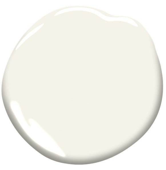 "Simply White by Benjamin Moore  | ""Fresh as the first snowfall, this clean, crisp, multi-purpose white is a perennial favorite for trim, ceilings, and walls."""