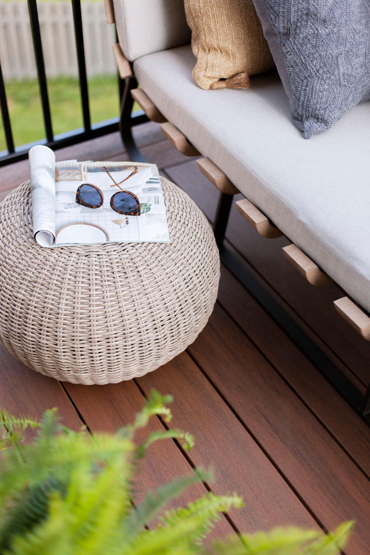 Shop the Look  |  Phoenix Outdoor Accent Stool