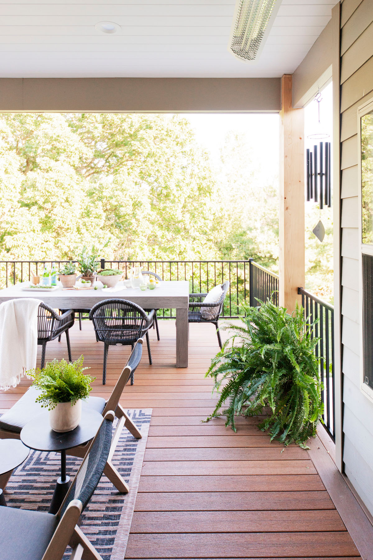 Fiberon Decking looks just like real wood but comes with none of the hassle.
