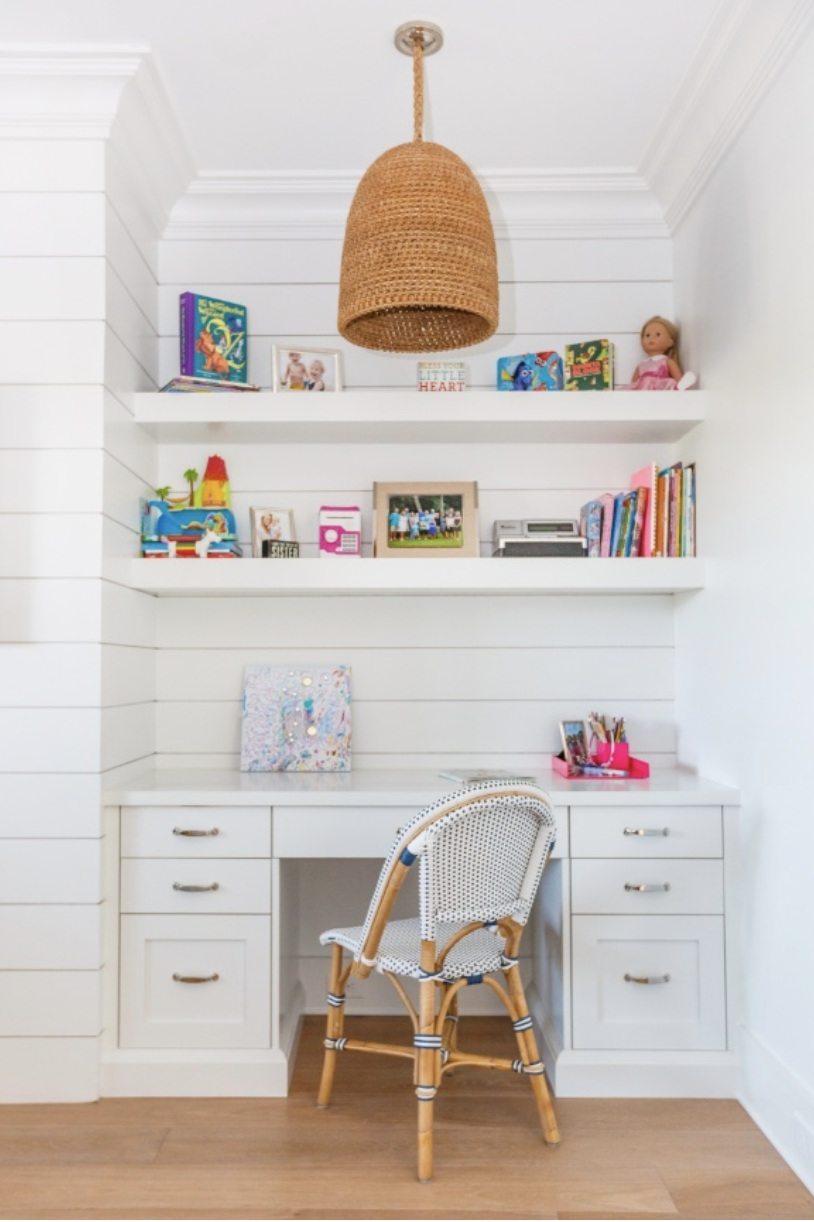 This desk and craft space is the perfect solution for creativity and productivity.