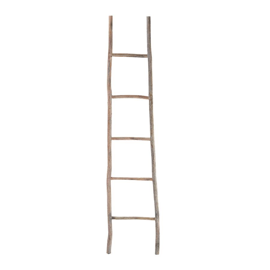 Wood White Washed Ladder.png