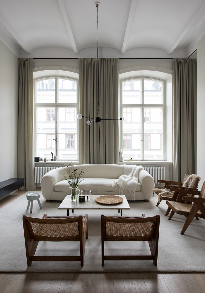 Home of architect,  Andreas Martin-Löf  | Developed in collaboration with  Oscar Properties  | Styling by  Lotta Agaton  / Photography by  Erik Lefvander