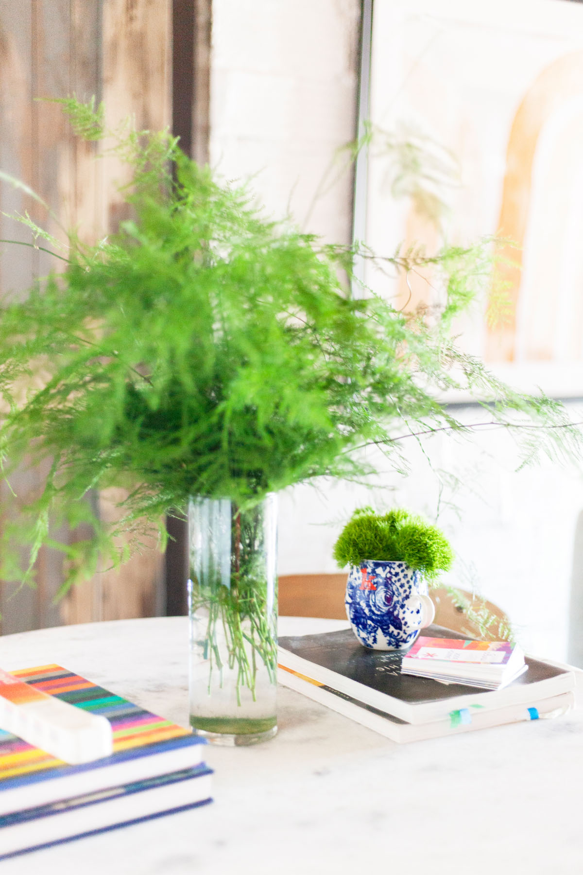 Make use of greenery that match the style of your space.  Find tips here!