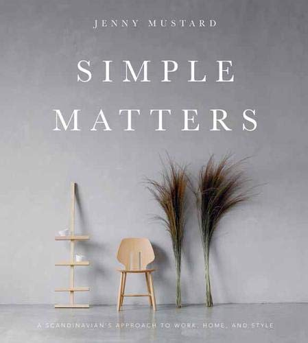$22.85 • Simple Matters By: Jenny Mustard