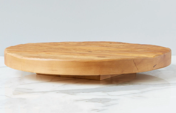 Trivet Top Lazy Susan Natural
