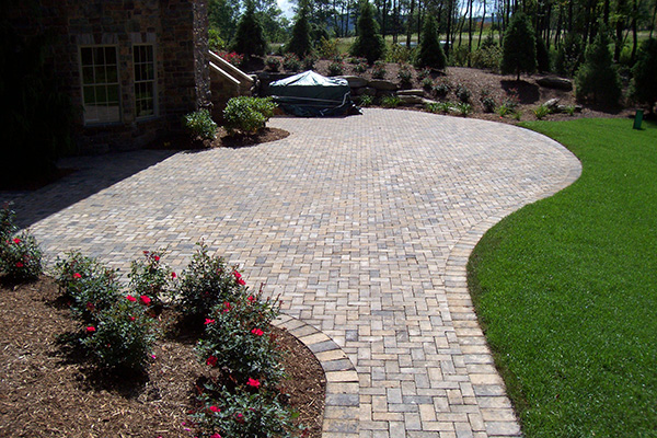 Brick Patios & Walkways -