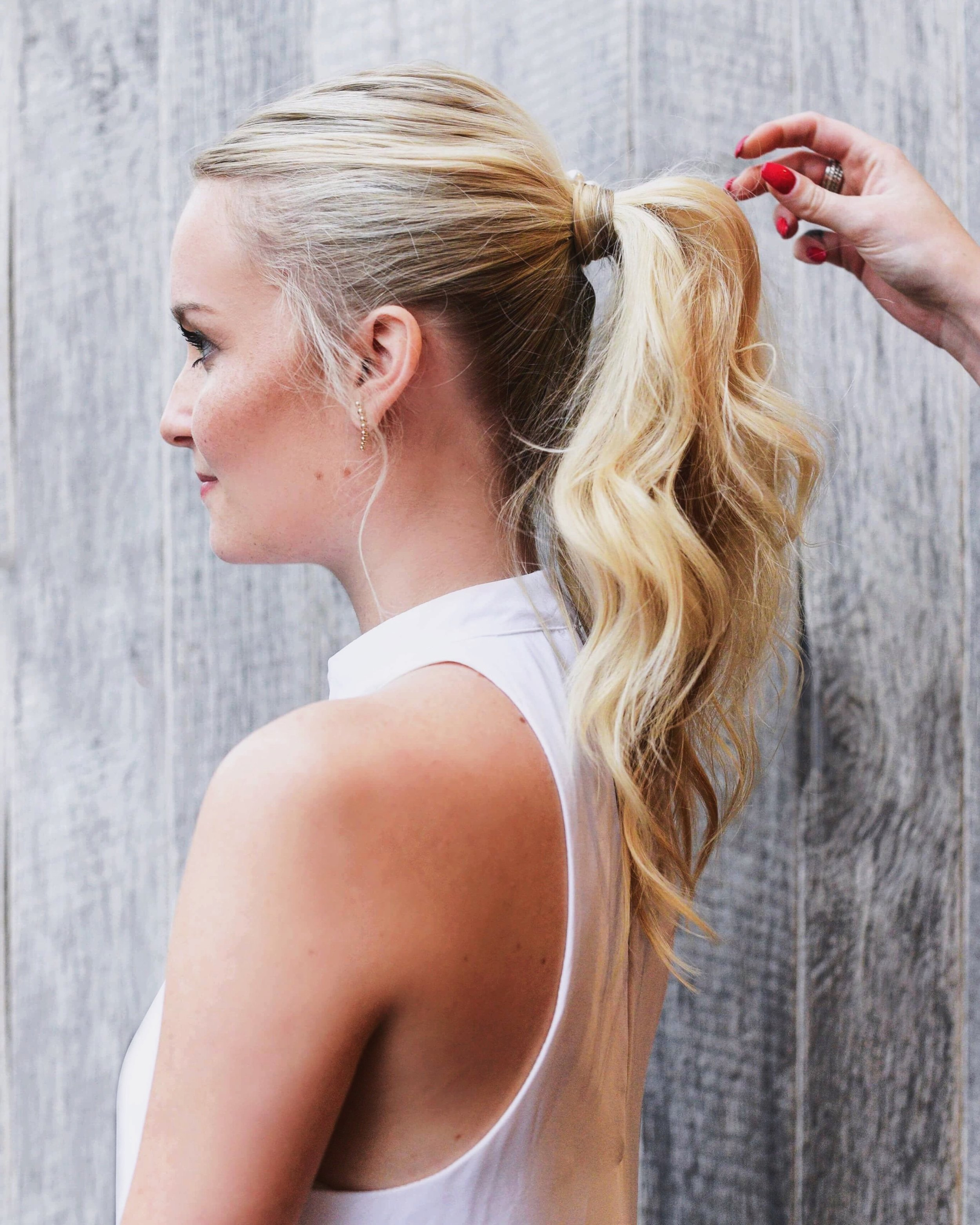 Dry Styles Include… - curling, straightening, ponytail, fishtail, top knot, dutch braid, french braid