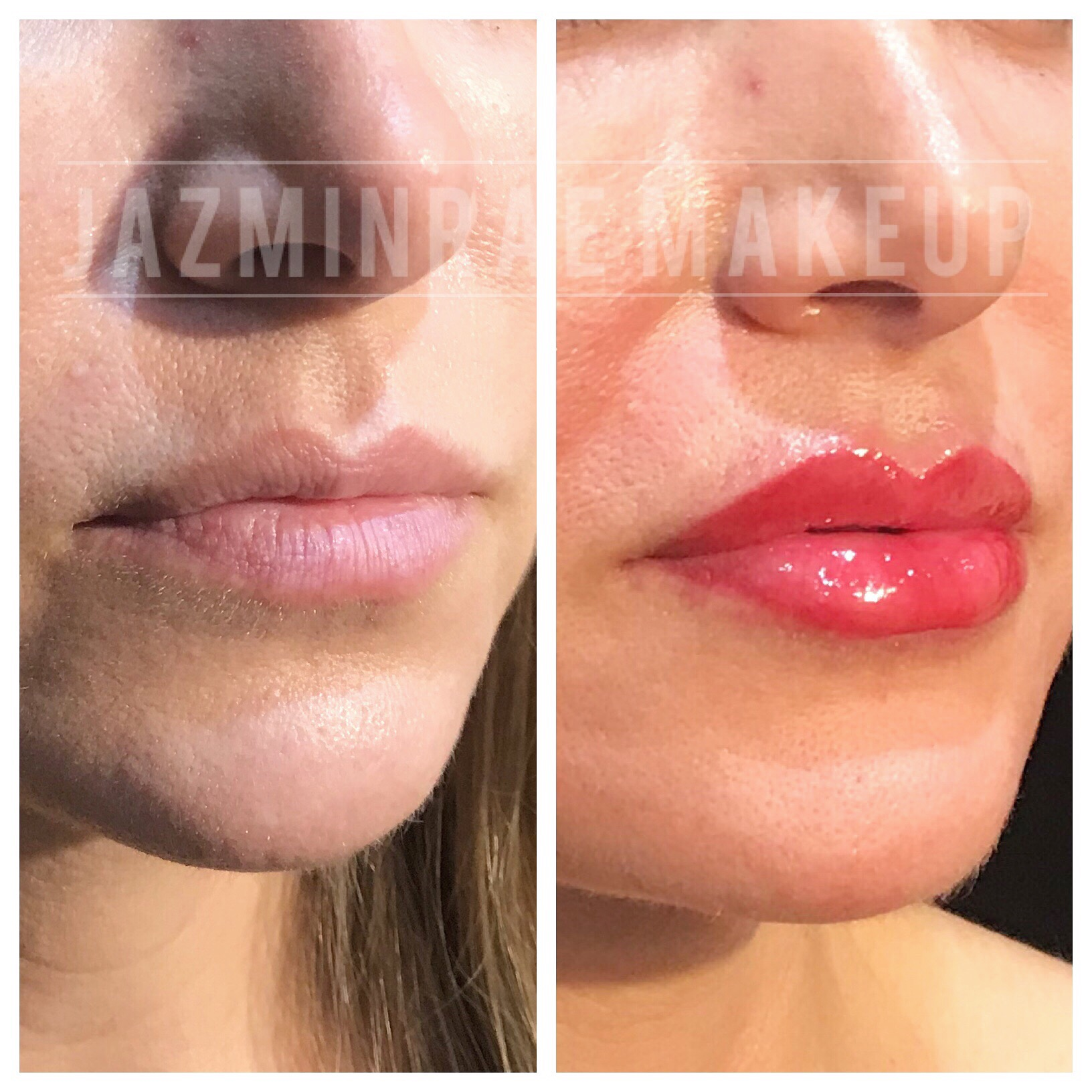 Lip shading by Jazmin