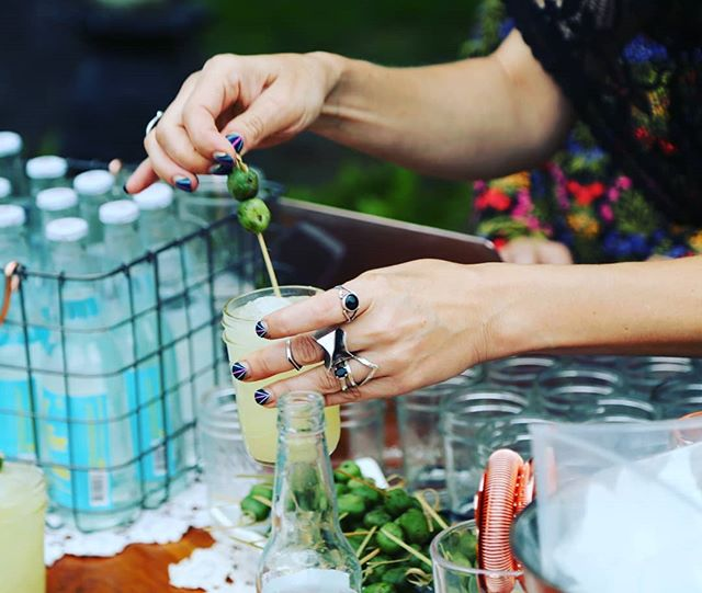 The outdoor cocktail event season is coming to a close, and we are already almost booked up for the holiday season! Why not elevate your holiday party with a bar service and specialty cocktails!? Shoot us a message for details today! ° ° ° ° ° ° #cocktailcatering #holidayparty #customcocktails #weddings