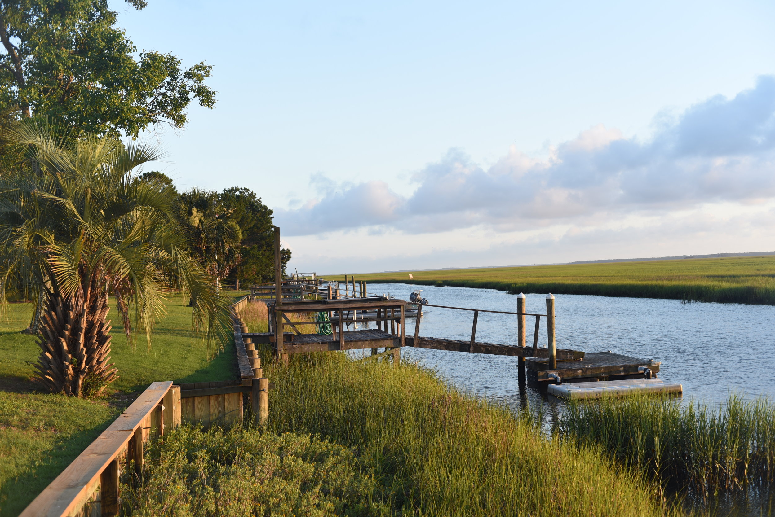 DeBordieu Creek Dock