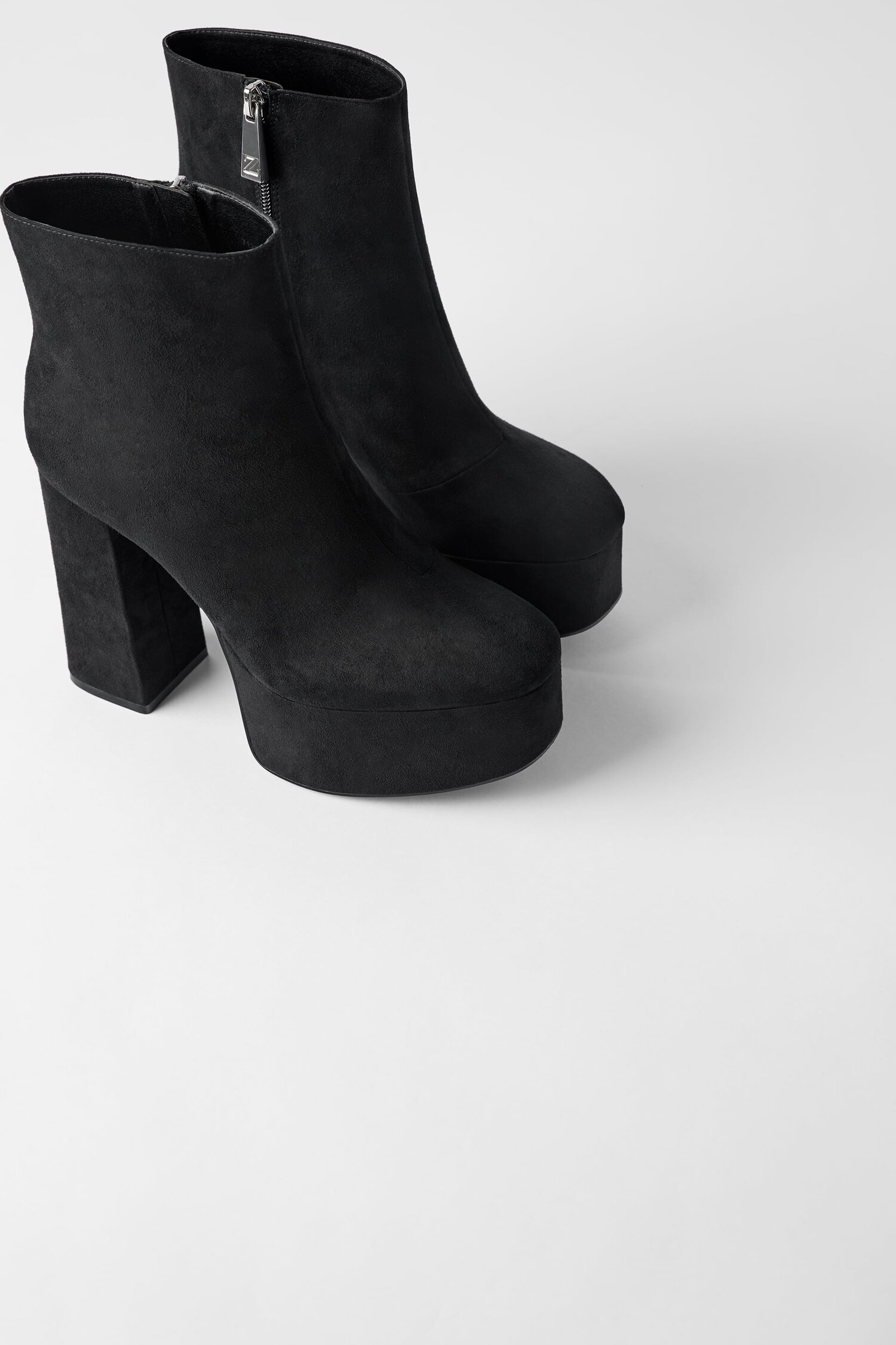 Zara Platform Ankle Boots