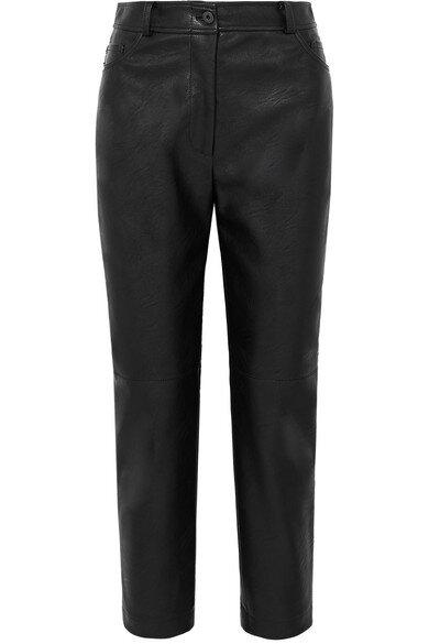 Stella McCartney Faux Leather Trousers